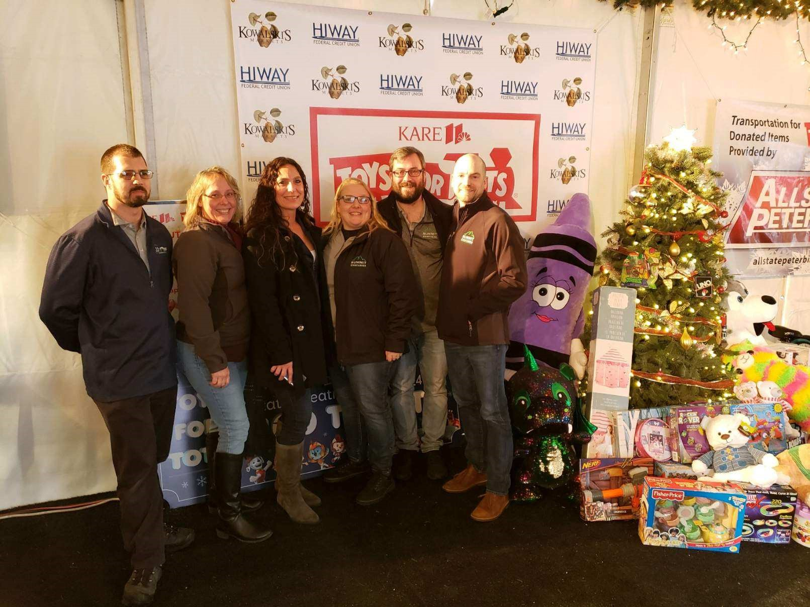 Accounting Team Collects Toys forToys for Tots