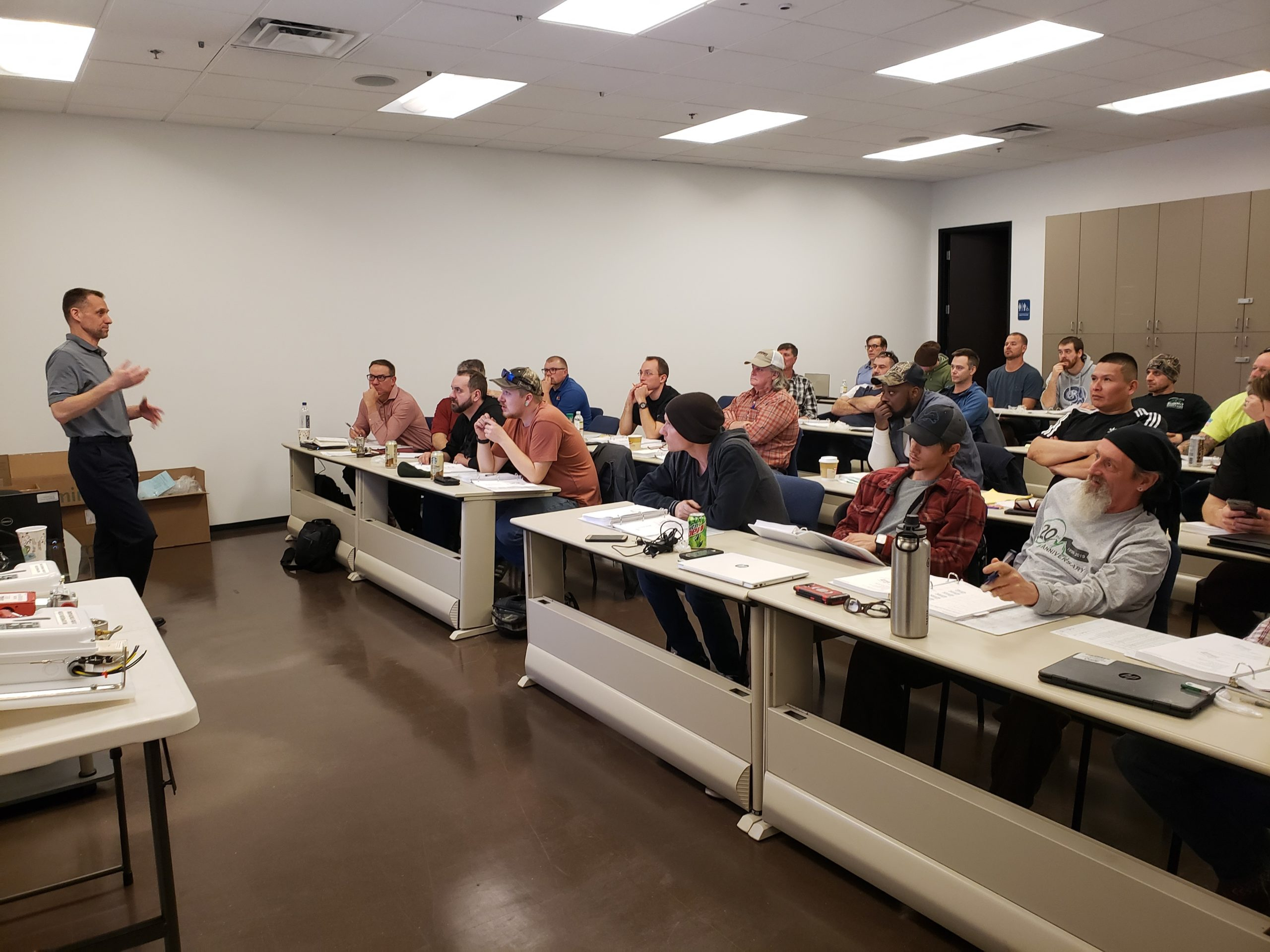 31 attendees at a training seminar instructed by Kidde