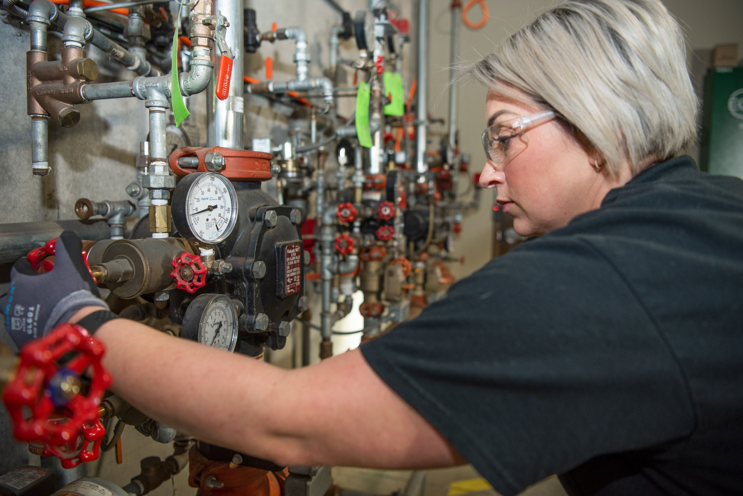 Technicians do a variety of testing and inspecting systems