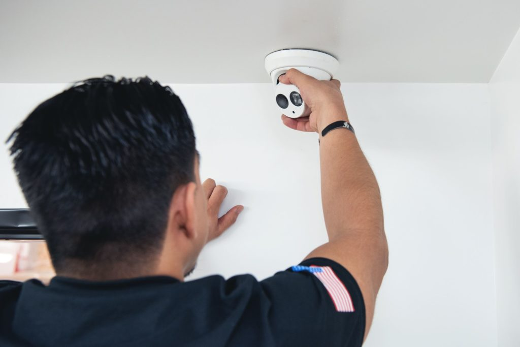 Security camera installation, inspection, and maintenance