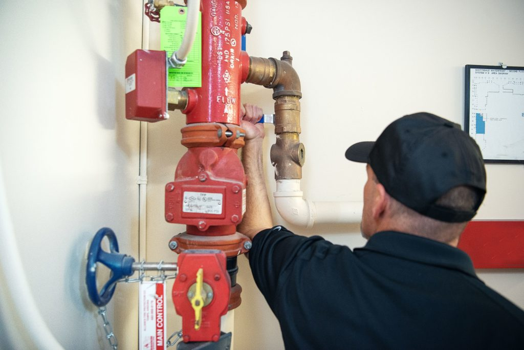 Fire life safety systems inspections and maintenance
