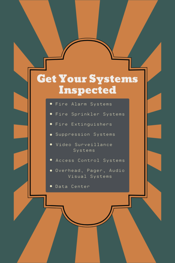 8 Building Systems to get Inspected